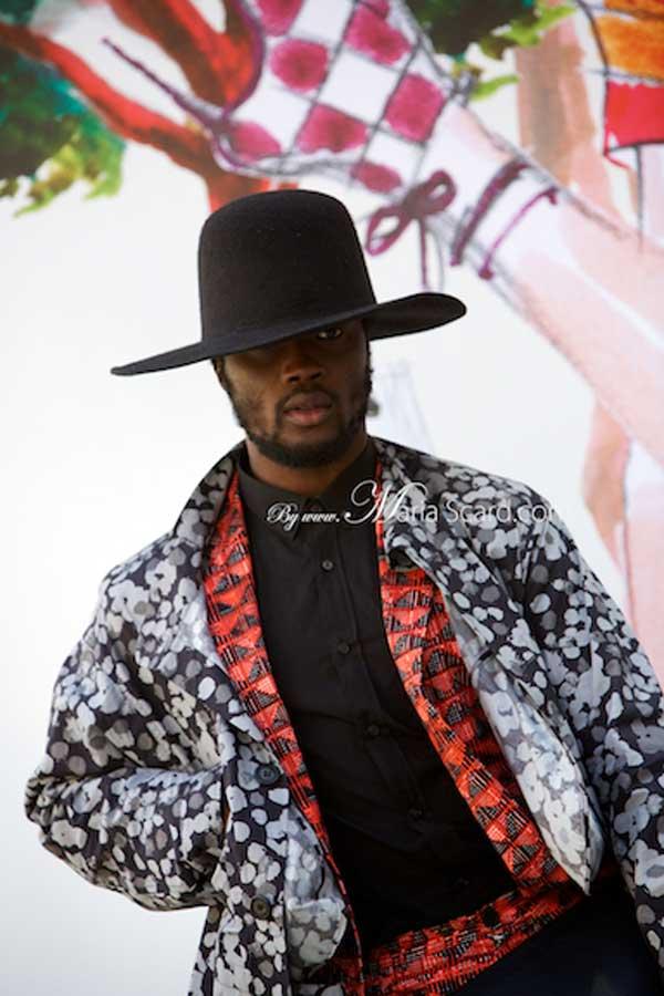 African prints for men- london fashion week 2013