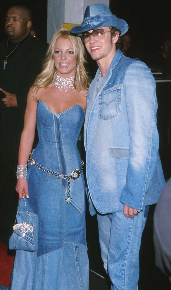 Britney Spears - Double denim outfits