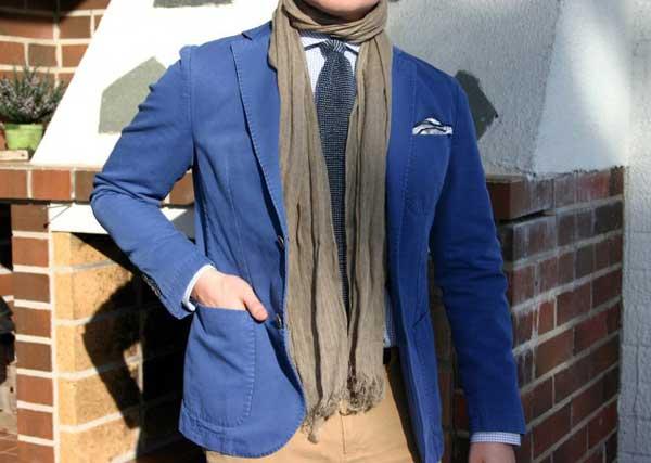 Blue jacket spring