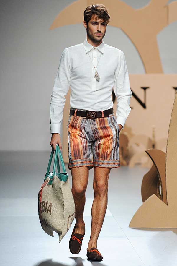 Ion Fiz - Floral shorts for men 2013