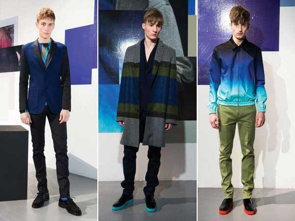 Jonathan Saunders - Two tone suits and jackets