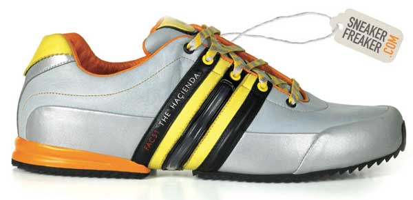 adidas y3 x hacienda grey and yellow