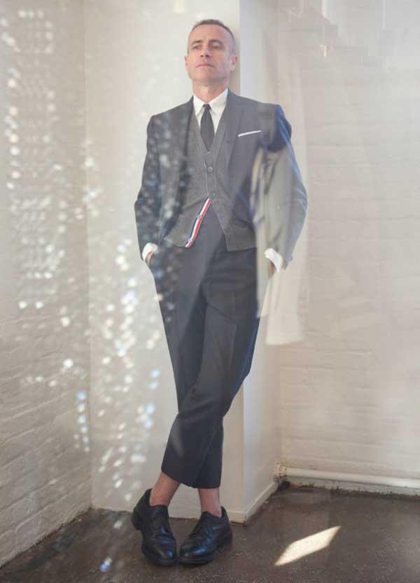 grey blazer, suit and cardigan 2013