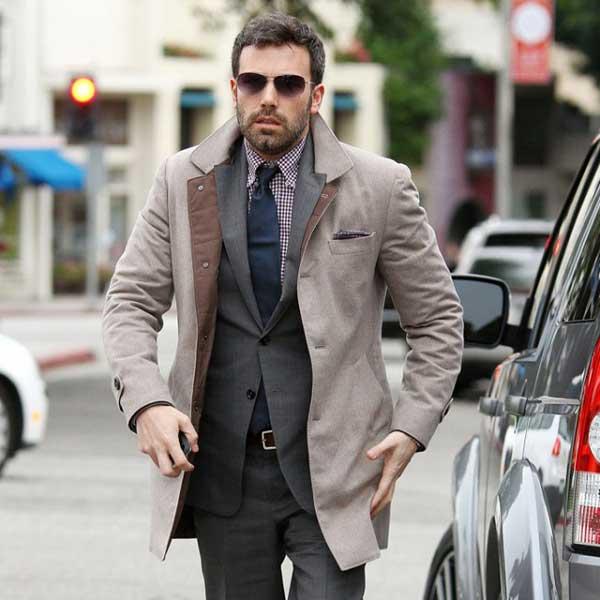 grey suit - Ben Affleck 2013