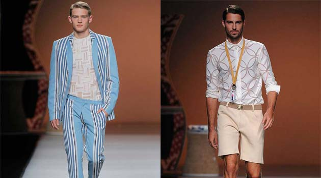 Ion Fiz SS13 For Men – Flowers, Stripes & Colourful