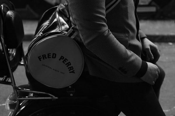 Mod Fashion Lambretta Vespa Scooters 2013 Fred Perry bag