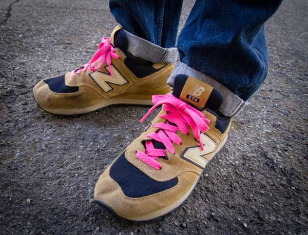 pink trainers - New Balance