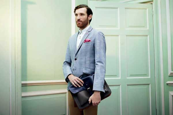Ted Baker Spring Blazer for men 2013 blue