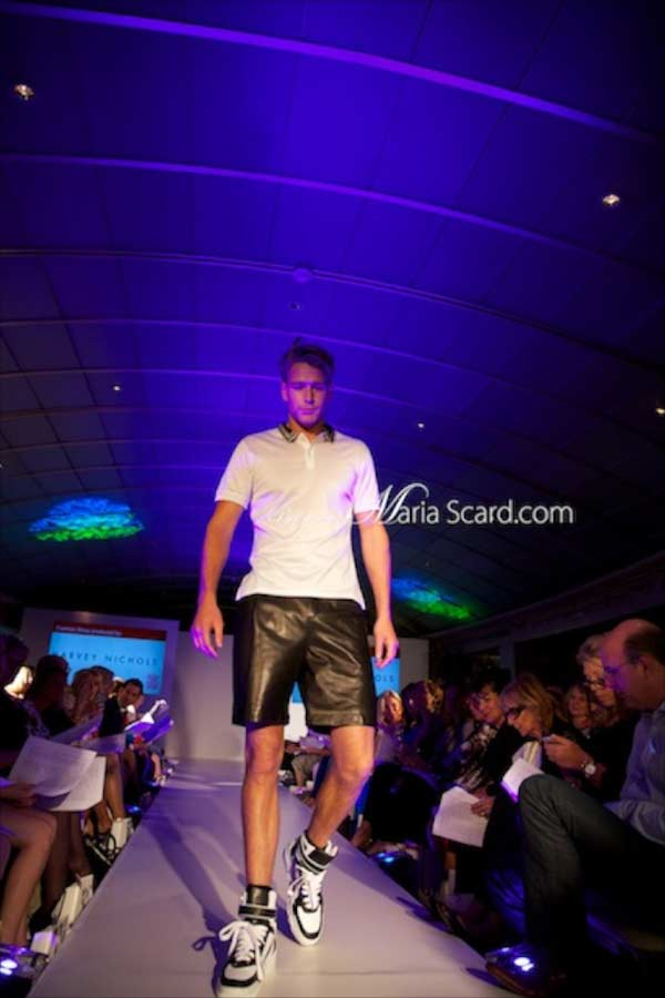 Harvey Nichols - McQ, Polo shirt, Givenchy leather shorts