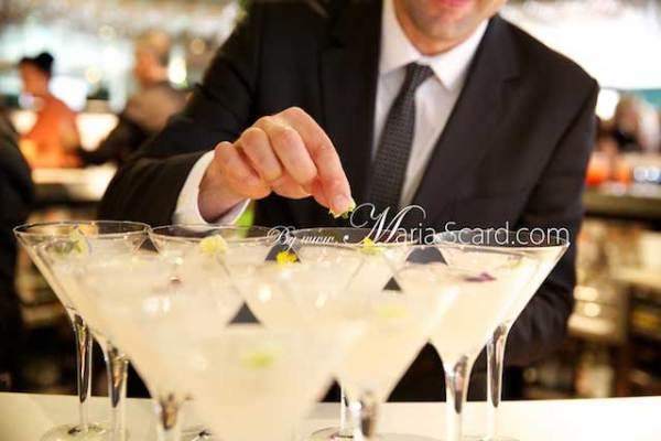 Harvey Nichols - Bar Staff in action - polka dot tie