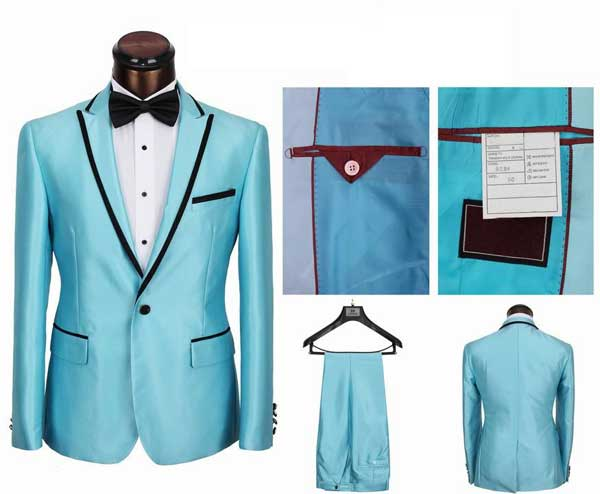 High end suits for men 2013