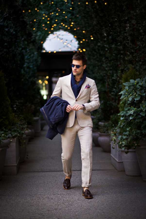 Linen Suits for men 2013