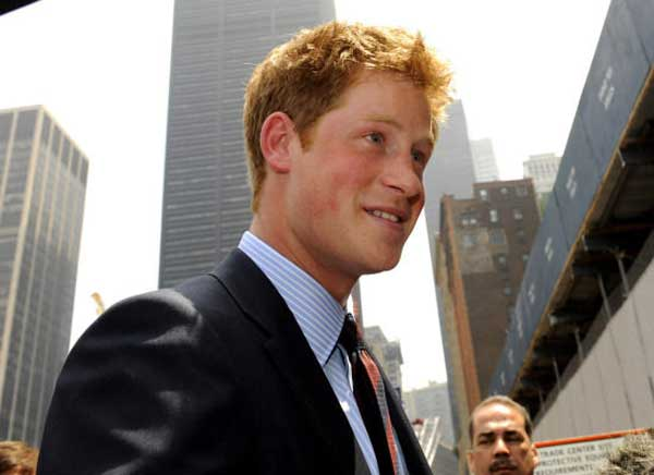 Prince Harry - New York - Latest Hairstyles for 2013