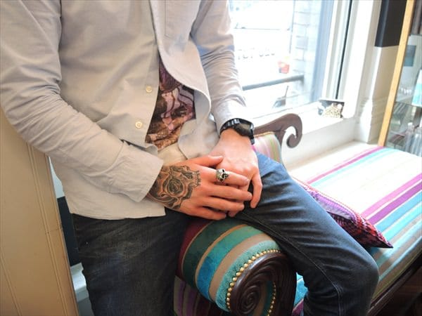 Tattoos for men London - Hand Tattoo