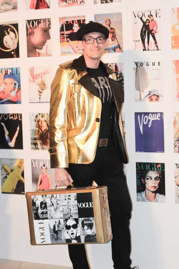 Darren attends every London Fashion Week event for years
