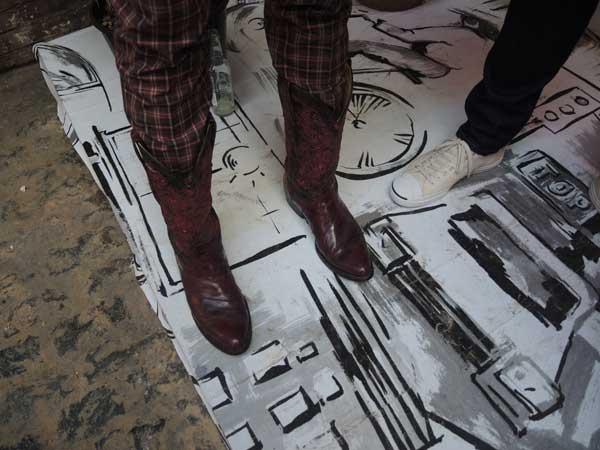 Hentsch Man -Cowboy Boots - Spring Summer 2014