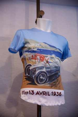 Orlebar Brown - Monaco Collection T - Shirt with Vintage car print