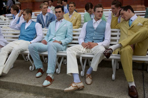 Savile Row - London Collections Men Summer Suits