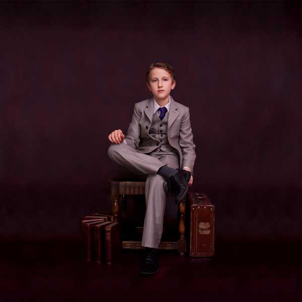 Unruly Blue Boys Suits Selfridges - Tailored clothing for young children