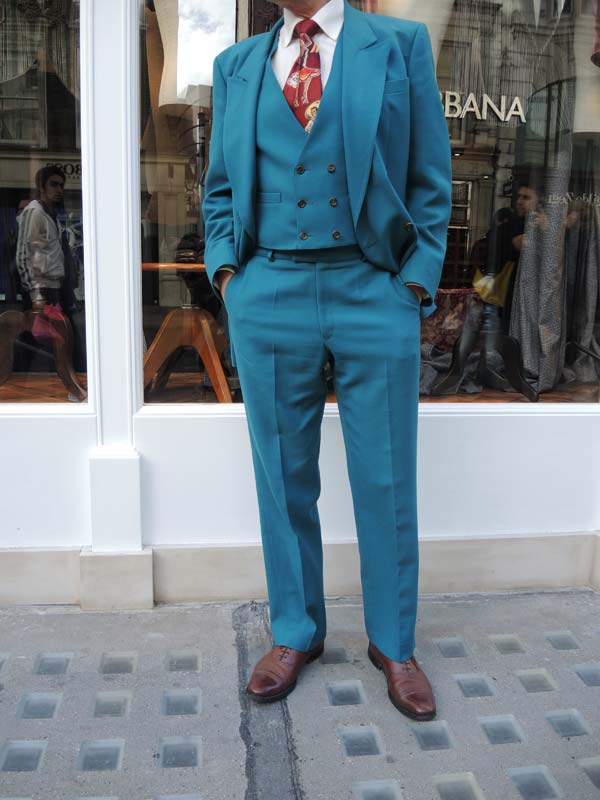Dolce & Gabbana Menswear Store Opening in Bond street London - Jonathan Daniel Pryce