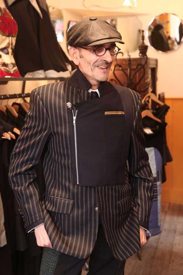Operational Wardrobe - Pinstripe Jacket