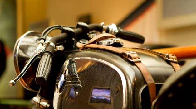 BLITZ Custom Made motorbikes petrol tank