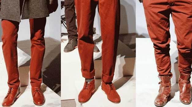 Fashion Colours for Men – Autumn / Winter 2013