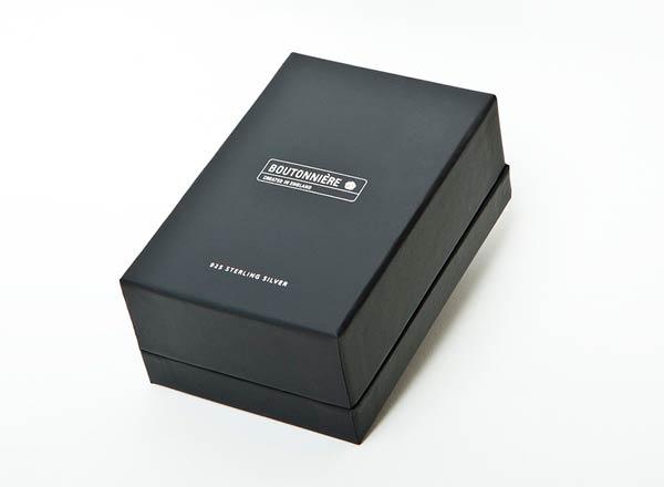 ButtonHoles - Boutonniere Packaging Black Box