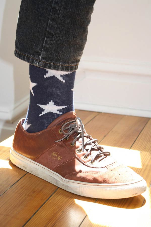 College Fashion - Style CliffNotes For The College Student Star Socks