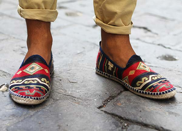 Espadrill slippers for men marocco