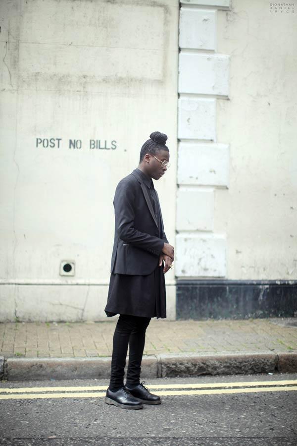 Jonathan Daniel Pryce - Black menswear
