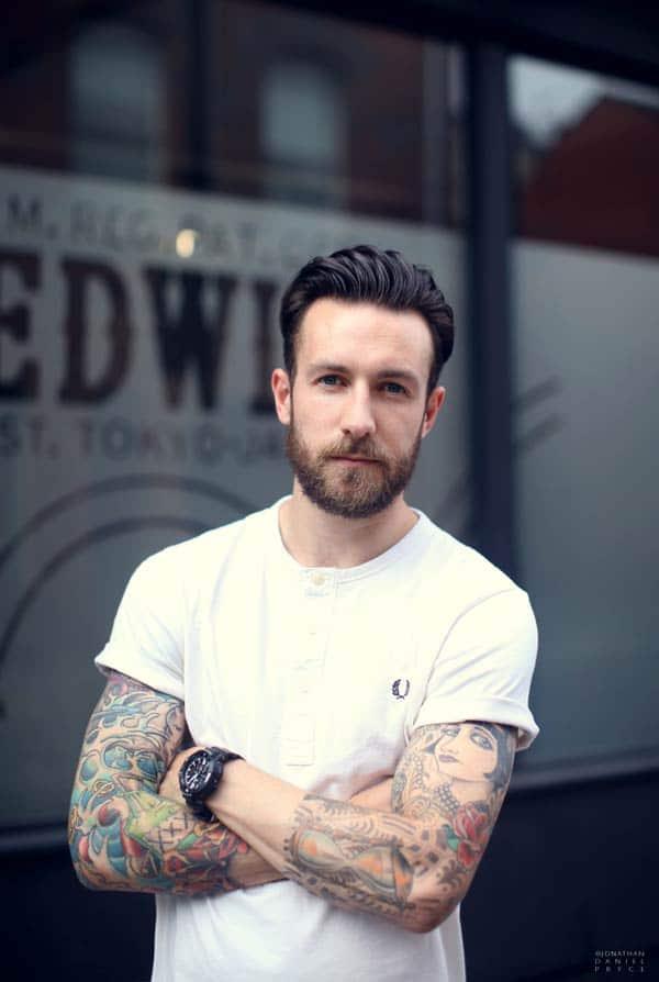 Jonathan Daniel Pryce - Photographer White T-shirts
