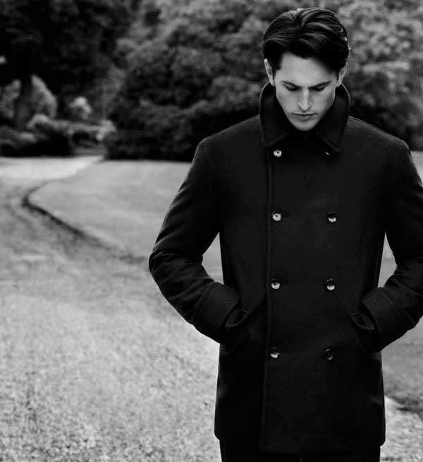 Pea Coats Fleece Reefer Jackets for men Stuarts London