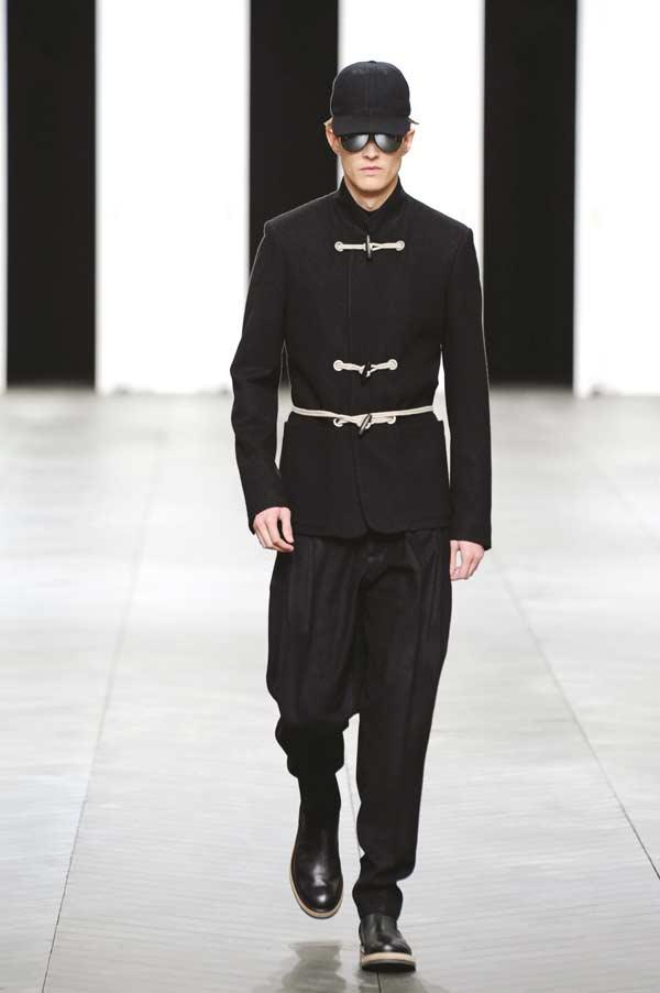 Dior Homme Duffel coat black
