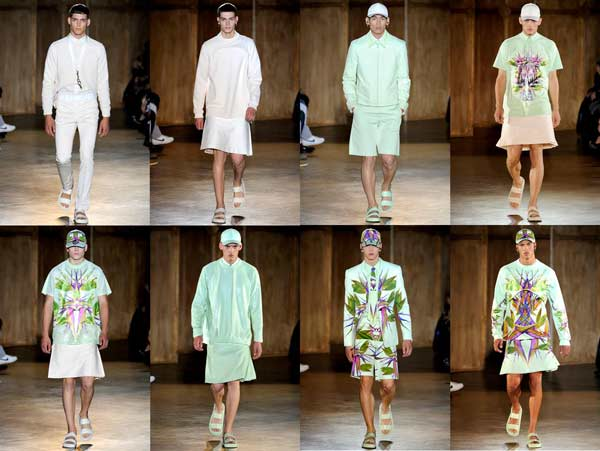 Givenchy Spring 2012 menswear