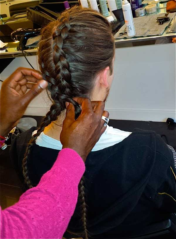 Kevin Fortune Hair Styling Academy London Fashion Week Braids