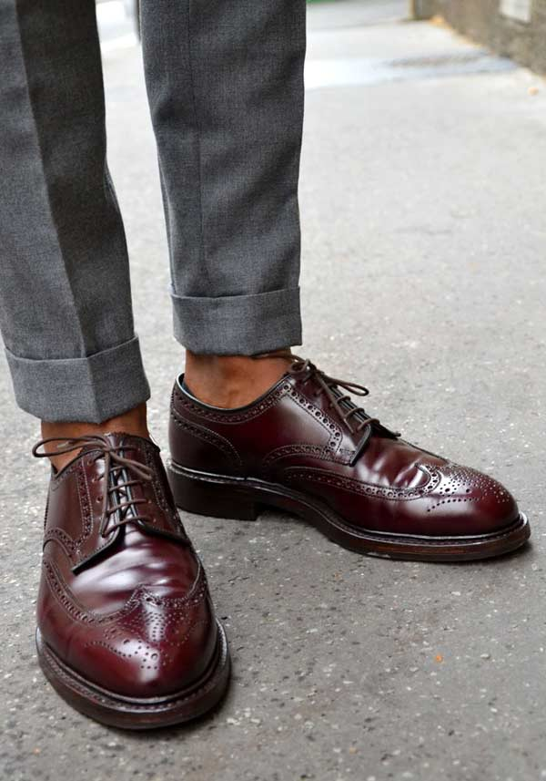 What To Wear On Your First Date Brogues