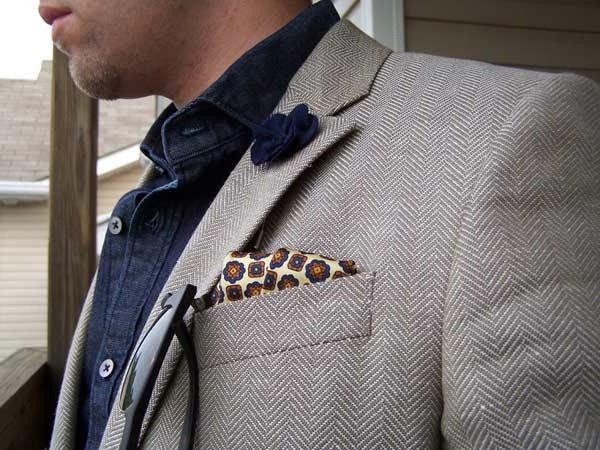 Business Suits for men denim shirt