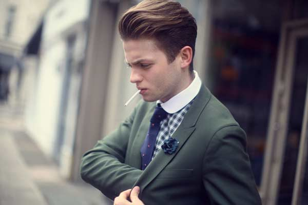 Business Suits for men  chequered shirts