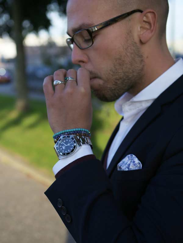 Business Suits for men smoking