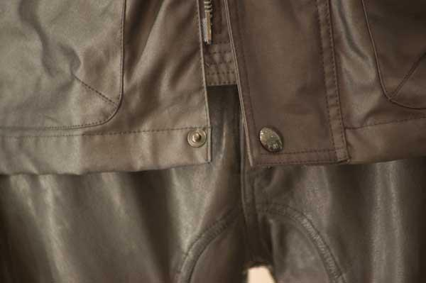 Men's S.Icon Steve McQueen Black Racing Waxed Jacket 19844