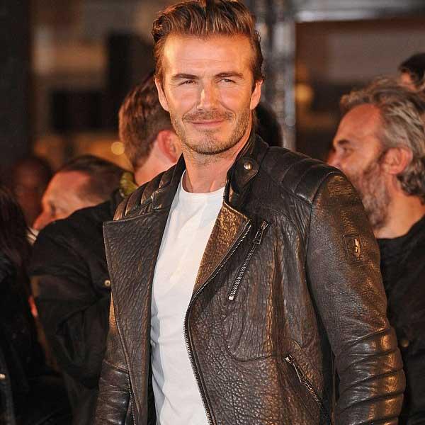 David Beckham - BELSTAFF - New Bond Street London
