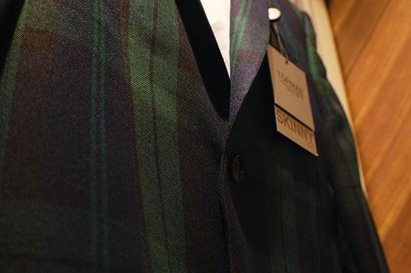 Topman tartan green - What men wear in Winter
