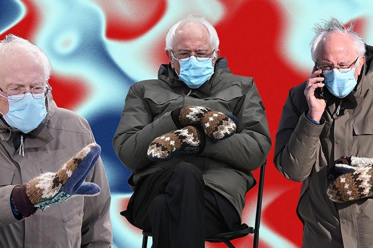Bernie Sanders Gloves