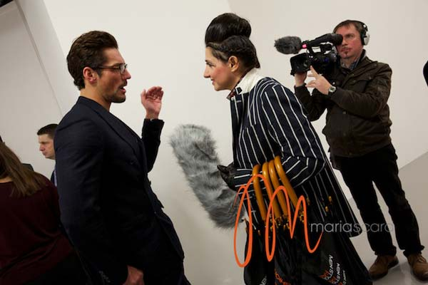 David Gandy -London Collections Men Breakfast