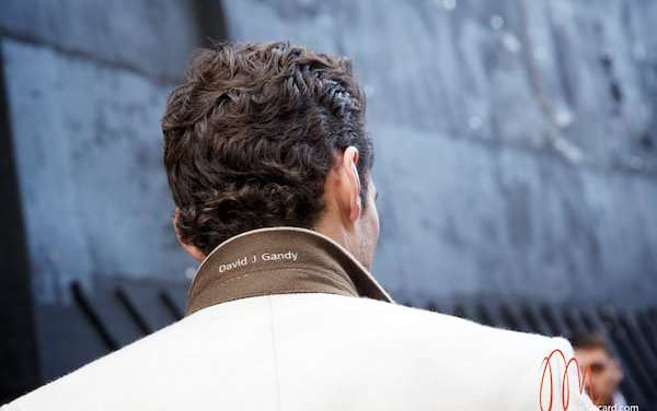 David James Gandy – Risky In Wearing A White Overcoat