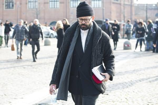 Pitti Uomo- Beanie Tailored Suit Trend
