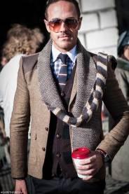 London Fashion Week 2014 - MenStyleFashion Street Photography