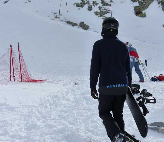 Cam Bolton - Snowboarder Cross Sochi 2014 (2)