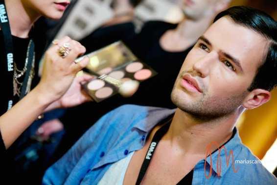 Dubai Fashion Foward MAC Make UP 2014 (2)
